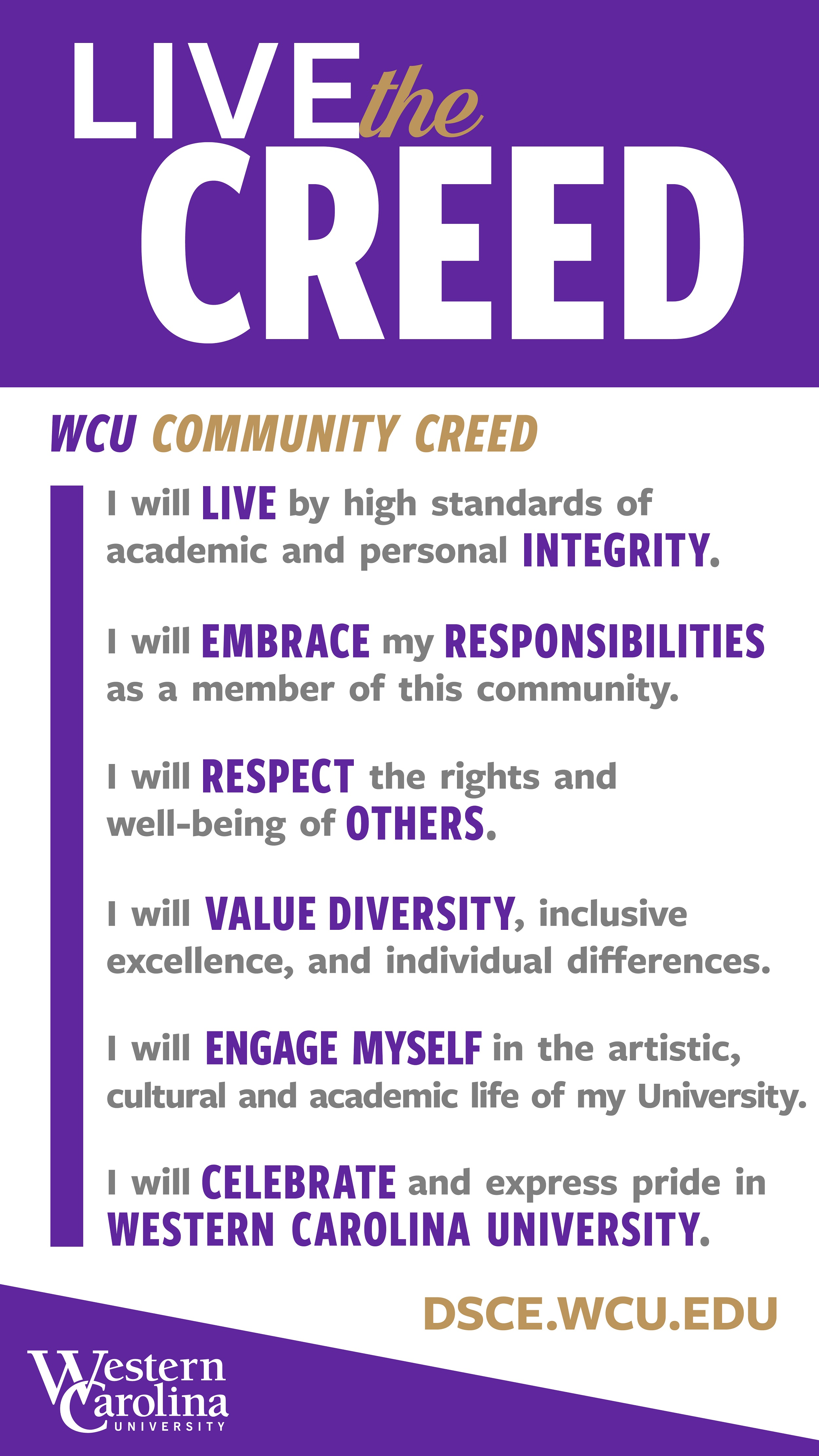 Community Creed