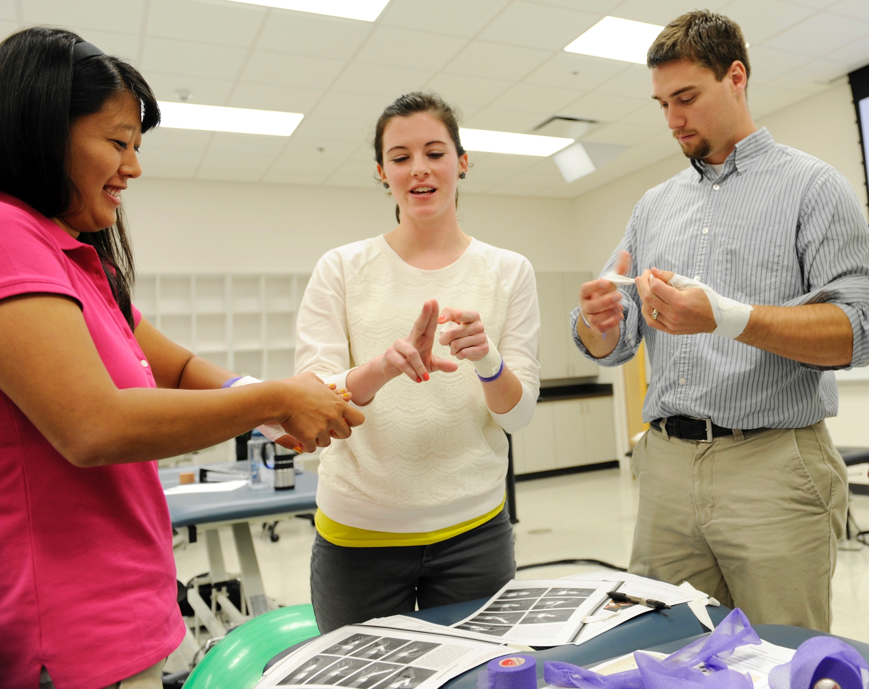 Physical Therapy similarities between high school and college