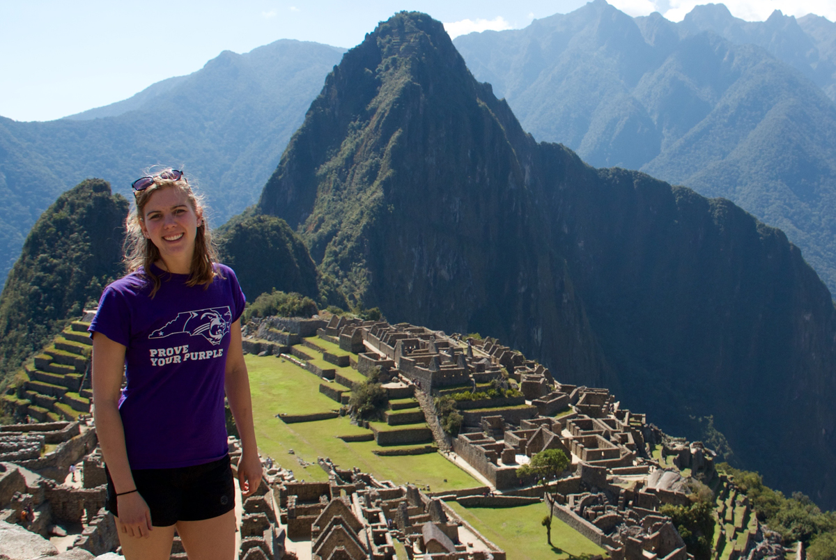 Abby Johnson, Study Abroad Student