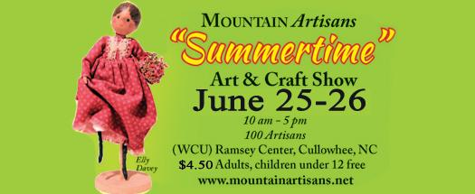 Mountain Artisans Summer Craft Show