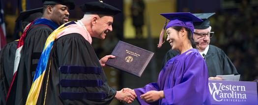 2017 WCU Spring Commencement